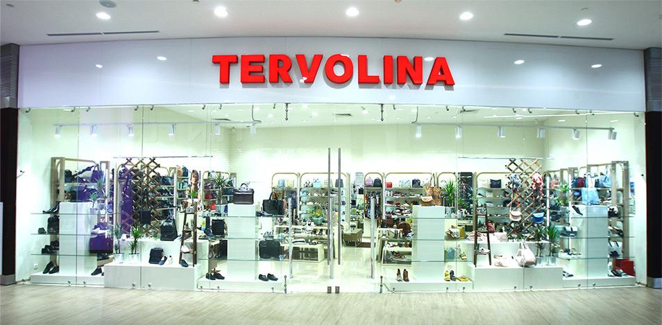TERVOLINA - сеть салонов обуви и аксессуаров, основанная в 1992г. b98051b36ec
